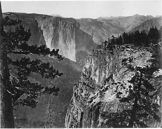 Carlton E. Watkins,  First View of the Valley Yosemite, ca.1865-66 引用図版=Carlton E. Watkins Photographs 1861-1874,  Fraenkel Gallery, 1989.